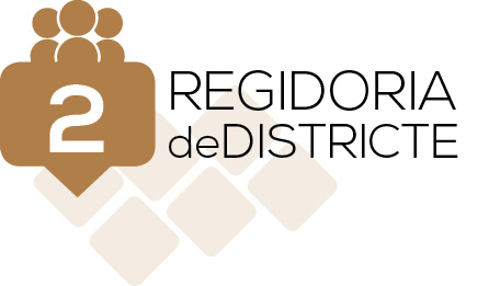 logotip districte segon