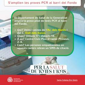Infografia de proves PCR