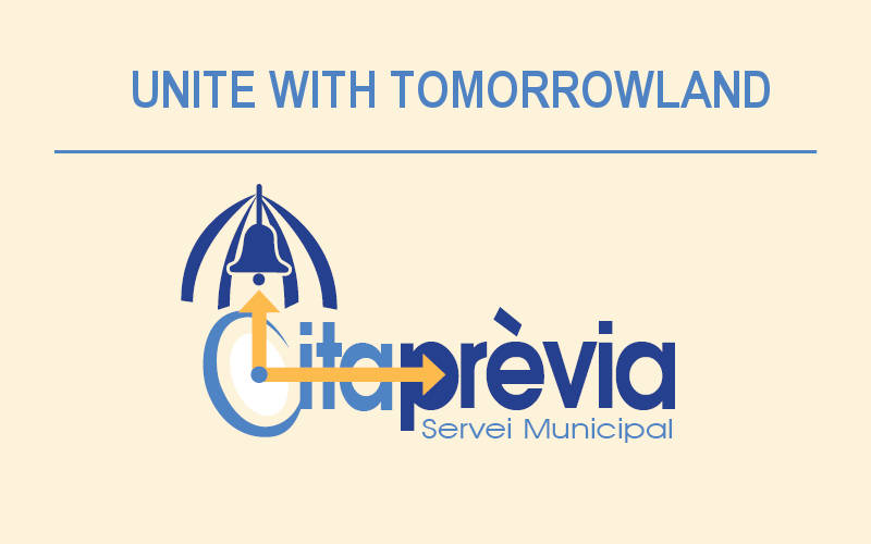 Logo cita previa Tomorrowland